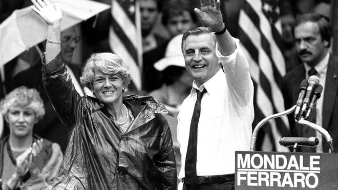 Walter Mondale, a liberal icon who lost the most lopsided presidential election after bluntly telling voters to expect a tax increase if he won, died on Monday
