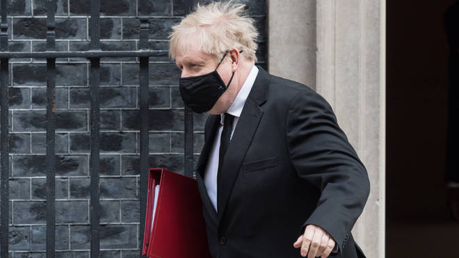 Boris Johnson met with football groups today about the proposed new Super League