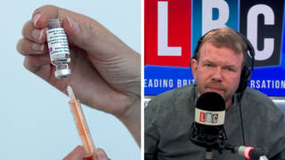 Listeners praise James O'Brien caller's fascinating insight into jab hesitancy