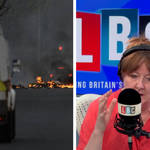 'Was Brexit worth it?' Northern Irish caller's message for PM as disorder continues