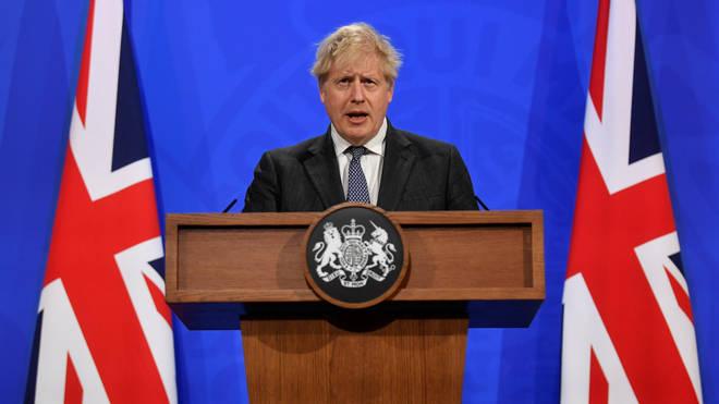 Boris Johnson announced the government's new antivirals taskforce on Tuesday
