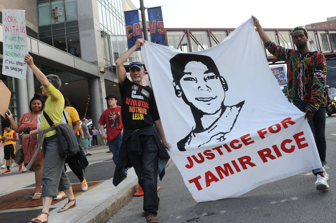 Tamir Rice, 12, was shot dead by police