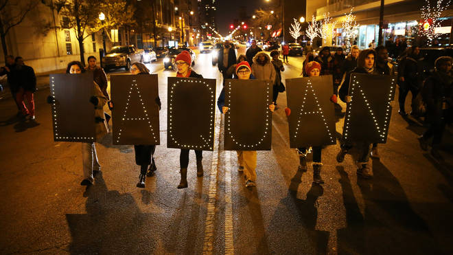 Protests after the death of Laquan McDonald