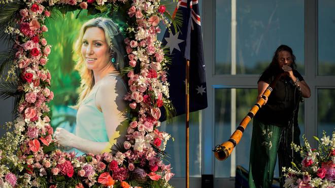 Justine Damond's memorial ceremony
