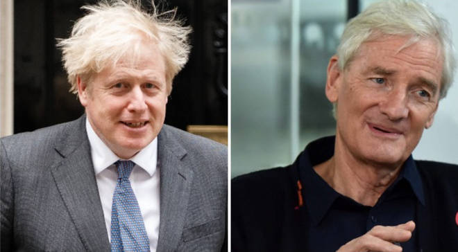 """Boris Johnson personally promised Sir James Dyson he would """"fix"""" an issue over the tax status of his employees"""