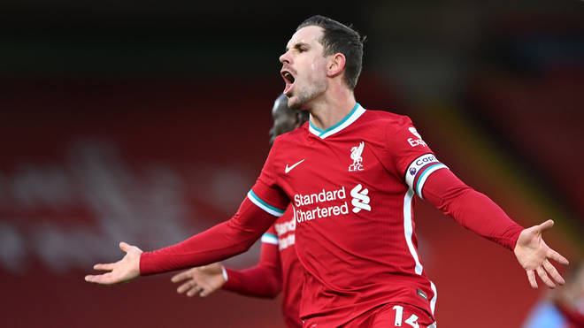 Liverpool Captain Jordan Henderson led players' response to the controversy