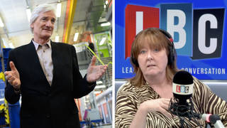 'I would do the same': Caller defends Dyson's 'acceptable' tax issue texts with PM
