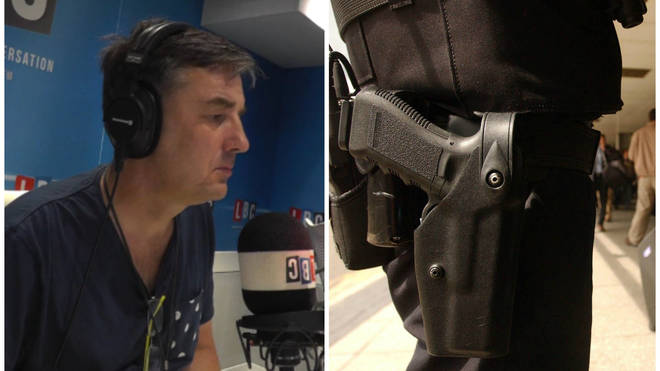 Police Officer Calls Ian Payne