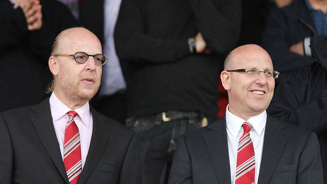 Joel Glazer (right) has said sorry to Manchester United fans over the European Super League