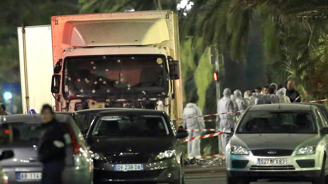 Italy France Truck Attack Arrest