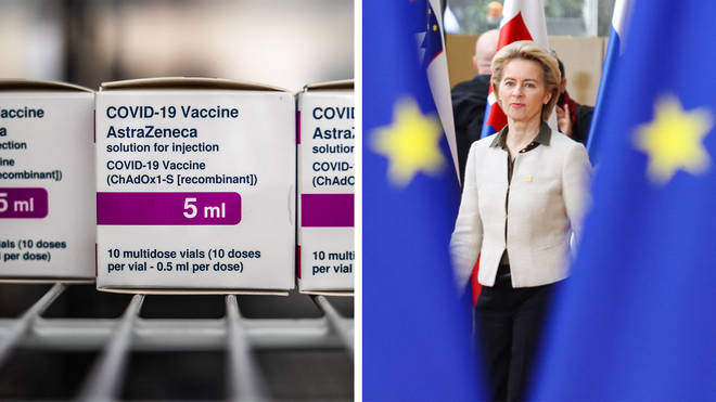 The European Union is taking legal action against AstraZeneca over delays in delivery of their Covid-19 vaccine.