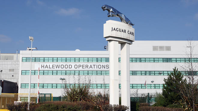 Jaguar Land Rover has paused production at two of its UK plants