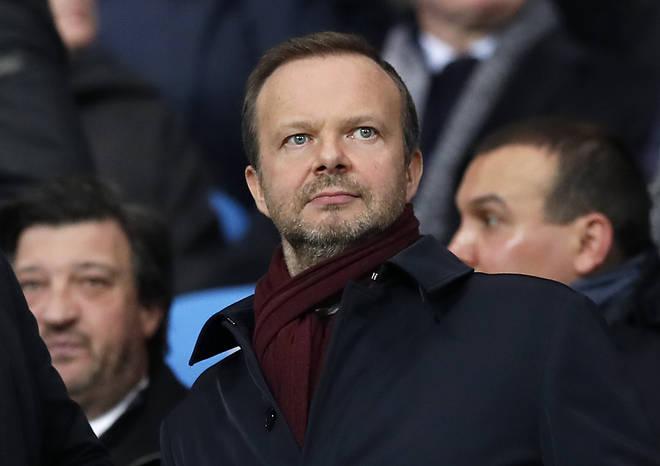 Man United chief executive Ed Woodward resigned on Tuesday.