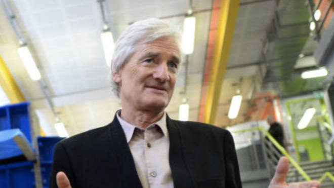 Sir James Dyson has moved his residency to the UK, reports say