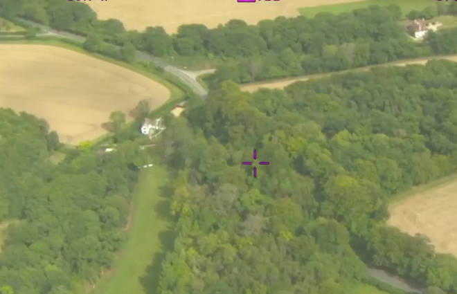 Alex Sartain crashed in a wooded area on the A343 near Hurstbourne Tarrant.