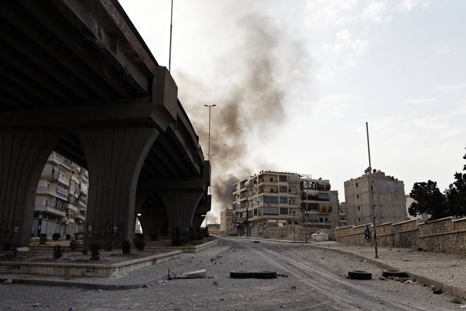 Syria was devastated by civil war