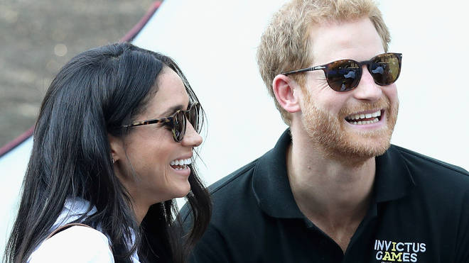 Prince Harry with Megan Markle