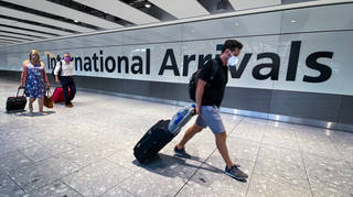 Passengers arriving from India will have to enter a quarantine hotel