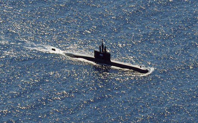 Other submarines, including the KRI Alugoro (pictured) have been called in to search for the missing Indonesian submarine KRI Nanggala..