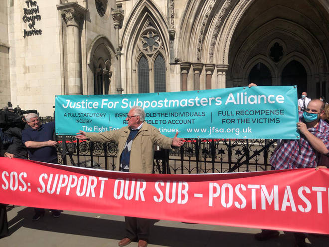 Campaigners gathered outside the Court of Appeal following the ruling