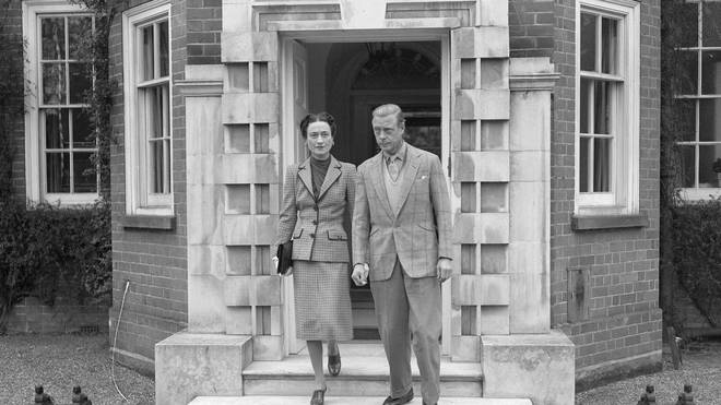 King Edward with Wallis Simpson