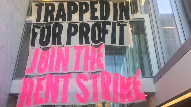 Students have started occupying buildings as part of ongoing rent strikes