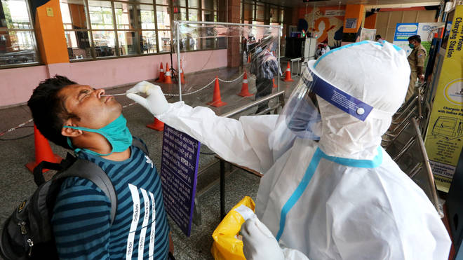India is struggling to contain its surging Covid-19 outbreak