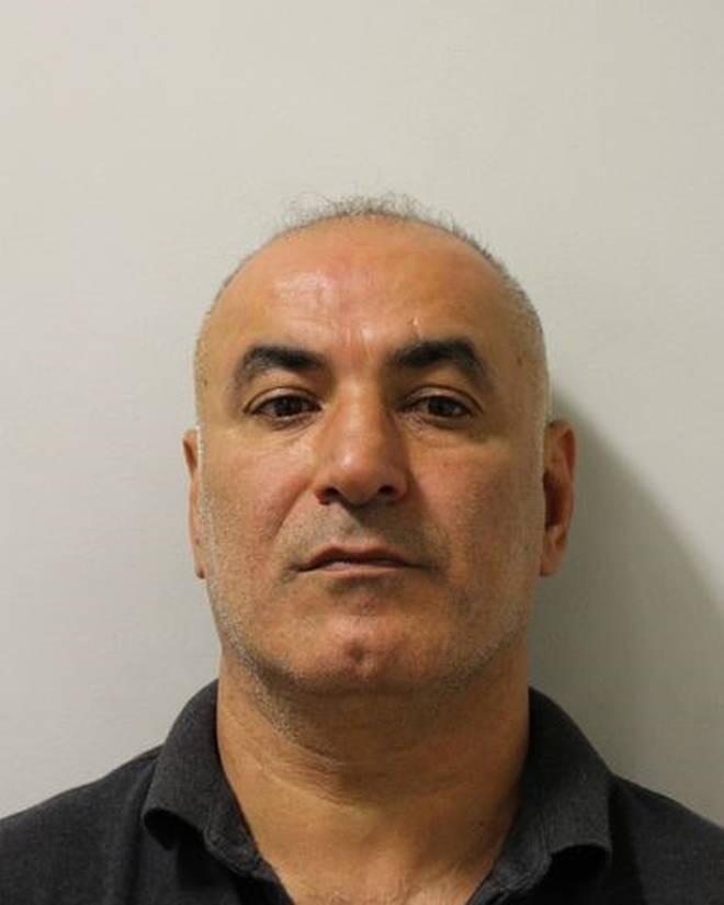Mehmet Yucetas, 47, has been jailed for 15 years