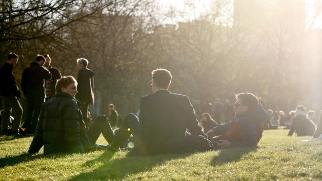 Brits have been enjoying a weekend of warm weather