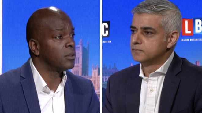 Sadiq Khan clashed with Shaun Bailey on a live debate with Swarbrick on Sunday