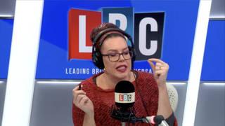 Natasha Devon shuts down caller who claims she 'never had a proper job'