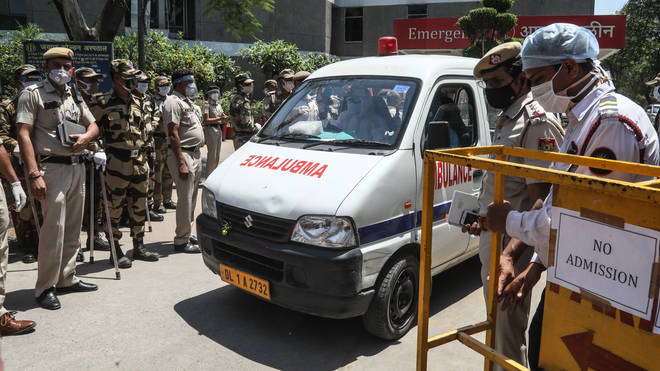 Vital supplies will be sent to India as it struggles with Covid cases