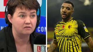 Ruth Davidson spoke to Watford captain Troy Deeney on An Inconvenient Ruth