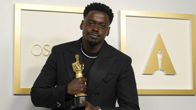 Daniel Kaluuya, winner of the award for best actor in a supporting role for Judas and the Black Messiah