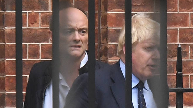 Dominic Cummings has accused Boris Johnson of attempting to shut down a leak inquiry