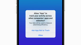 Apple's App Tracking Transparency tool