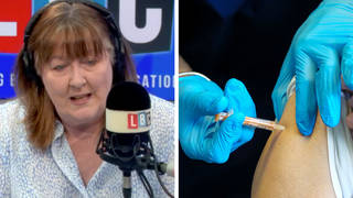 NHS staff rubbishing vaccine impact need to 'go on another course', doctor tells LBC