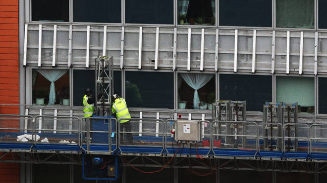 Loans to help fix dangerous cladding could take years to come through (file image)