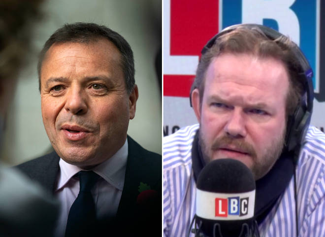 James O'Brien spoke about Arron Banks