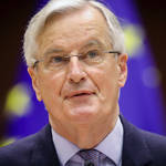 Michel Barnier speaks to MEPs on Tuesday