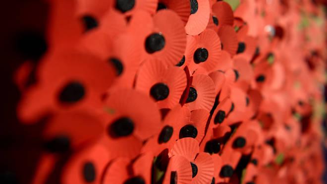 Royal British Legion red poppy