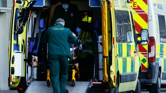 A total of 1,310 patients were in hospital in England at 8am on April 27