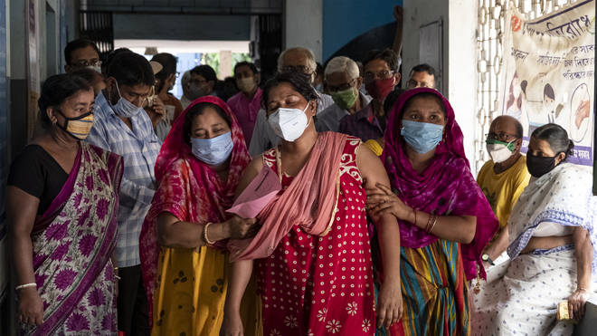 India has recorded the world's highest number of daily Covid cases since the pandemic began