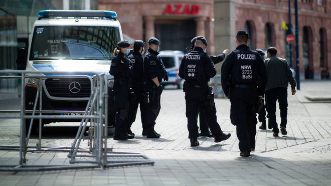 German authorities have warned that some members of the movement are looking to cause trouble