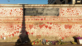 """The Prime Minister has been accused of trying to """"dodge"""" relatives of those who have died during the crisis by visiting the National Covid Memorial Wall """"under cover of darkness"""""""