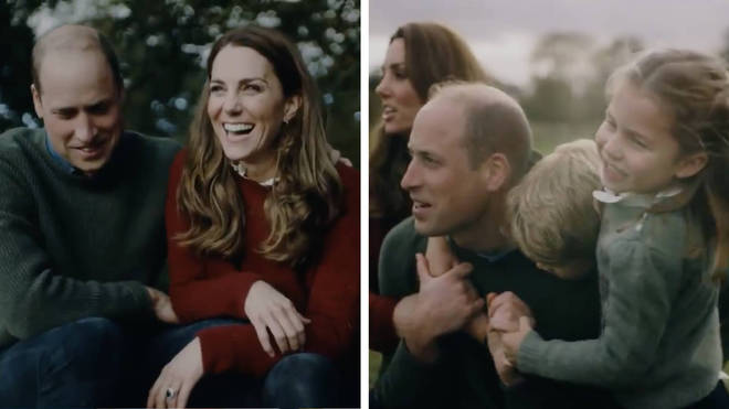 The Duke and Duchess of Cambridge have released a video with George, Charlotte and Louis to celebrate 10 years of marriage