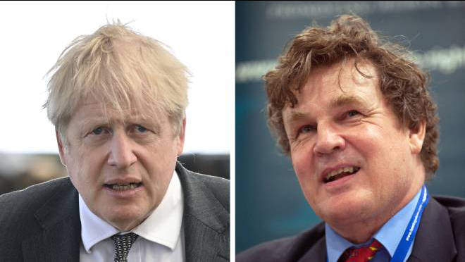 Peter Oborne (R) said Boris Johnson will be frightened of the new ethics adviser