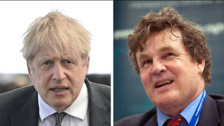 Peter Oborne (R) said Boris Johnson will be frightened of the new ethics adviser