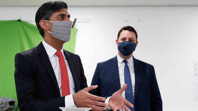 Rishi Sunak made the comments to LBC during an outing in Hartlepool