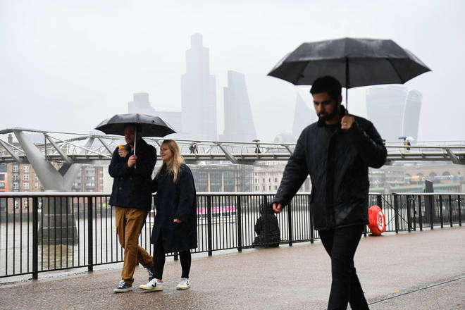Weather warnings could be imposed over the weekend